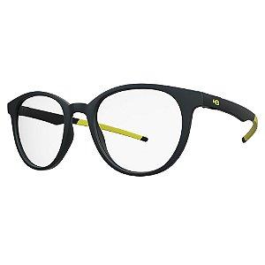 Óculos de Grau HB 93156 - Preto / Amarelo