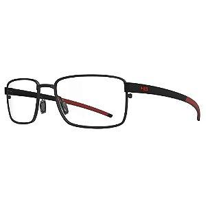 Óculos de Grau HB 93423 - Preto / Vermelho