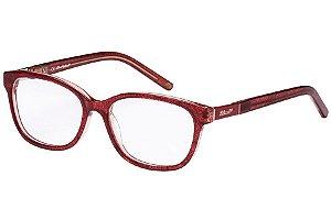 Óculos de Grau Lilica Ripilica VLR113C02/50 Marrom Transparente