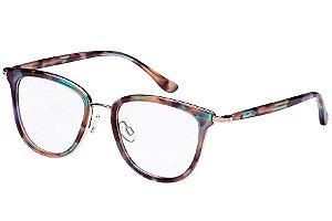 Óculos de Grau Lilica Ripilica VLR112 C02/48 Tartaruga Verde