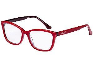 Óculos de Grau Lilica Ripilica VLR111 C01/50 Vermelho