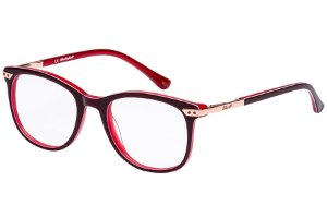 Óculos de Grau Lilica Ripilica VLR107 C04/48 Vermelho