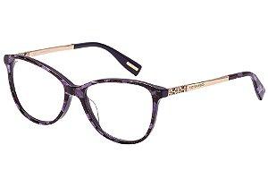 Óculos de Grau Victor Hugo VH1773S 06UA/54 Roxo Estampado/Dourado