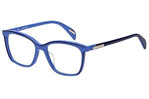 Óculos de Grau Victor Hugo VH1756 0Z25/51 Azul Claro/Azul Marinho