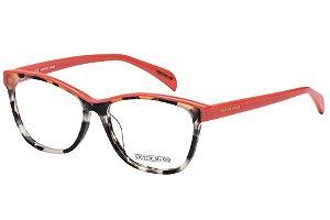 Óculos de Grau Victor Hugo VH1733 0M65/52 Preto Mesclado/Rosa