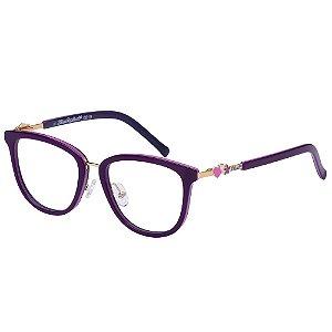 Óculos de Grau Lilica Ripilica VLR139 C2/48 Roxo