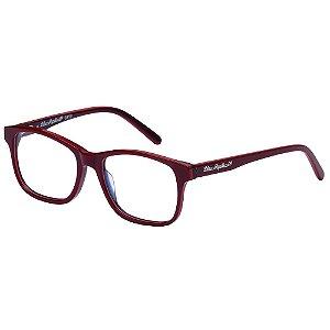 Óculos de Grau Lilica Ripilica VLR138 C4/48 Vermelho