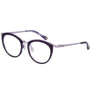 Óculos de Grau Lilica Ripilica VLR130 C02/49 Preto