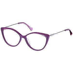 Óculos de Grau Victor Hugo VH1801 09Q4/54 Roxo