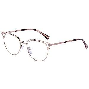 Óculos de Grau Victor Hugo VH1280 033M/51 Dourado