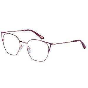 Óculos de Grau Victor Hugo VH1279 07AP/51 Vermelho