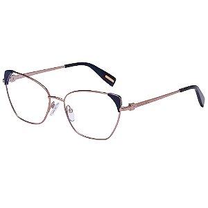 Óculos de Grau Victor Hugo VH1272 08FE/55 Cobre