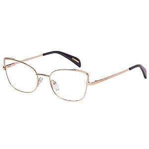 Óculos de Grau Victor Hugo VH1268 0300/53 Cobre