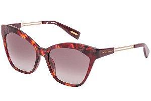 Óculos de Sol Victor Hugo SH1791 09BD/56 Tartaruga Vermelho