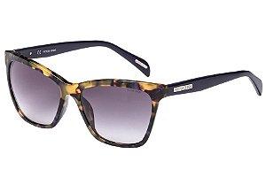 Óculos de Sol Victor Hugo SH1777 0WTA/56 Tartaruga/Azul