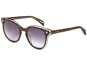 Óculos de Sol Victor Hugo SH1776S 07UX/52 Tartaruga