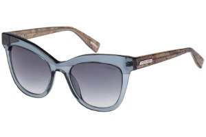 Óculos de Sol Victor Hugo SH1764 0844/51 Cinza Transparente/Efeito Escama