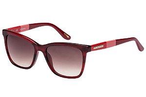 Óculos de Sol Victor Hugo SH1746 04A2/53 Bordô Mesclado/Vermelho