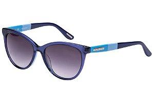 Óculos de Sol Victor Hugo SH1745 0V26/54 Azul Transparente/Azul