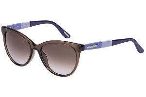 Óculos de Sol Victor Hugo SH1745 06ME/54 Marrom Transparente/Azul
