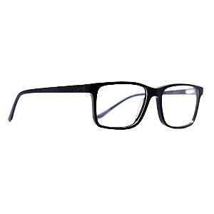 Óculos de Grau Evoke Folk 1 A01/56 Preto