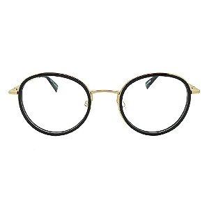 Óculos de Grau Evoke For You DX57 A01/51 Preto