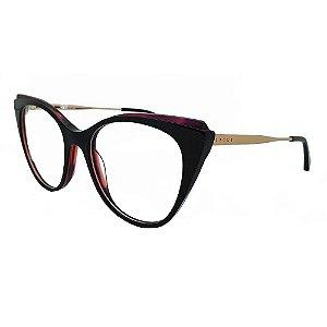 Óculos de Grau Evoke For You DX47 H01/52 Roxo