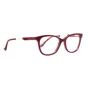 Óculos de Grau Evoke For You DX42 T01/53 Vermelho