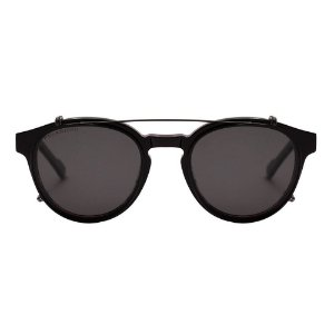 Óculos de Grau Evoke Clip On Retro H01/50 Preto