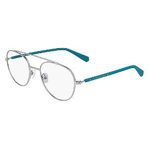 Óculos de Grau Calvin Klein Jeans CKJ20304 045/52 Prata