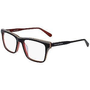 Óculos de Grau Calvin Klein Jeans CKJ19512 074/55 Preto