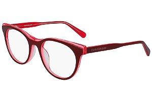 Óculos de Grau Calvin Klein Jeans CKJ19511 609/51 Vermelho