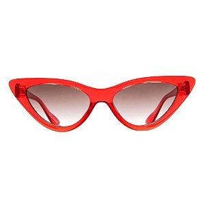 Óculos de Sol Evoke Catfish T01/54 Vermelho
