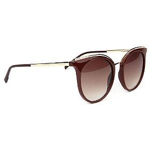 Óculos de Sol Atitude AT5403 D01/53 Bordô/Dourado