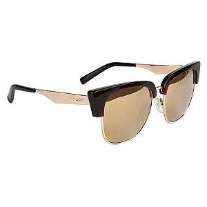 Óculos de Sol Atitude AT5377 T01/54 Marrom/Dourado