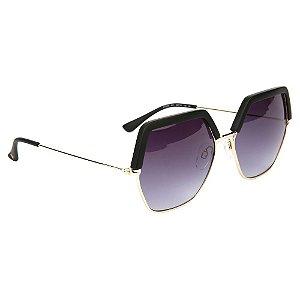 Óculos de Sol Atitude AT3229 A01/58 Preto/Dourado