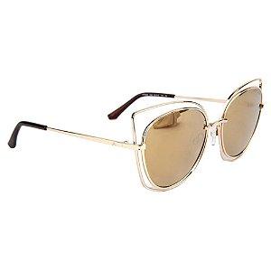 Óculos de Sol Atitude AT3209 04B/55 Dourado
