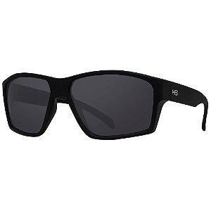 Óculos de Sol HB Stab/59 Preto - Lente Cinza Polarizado