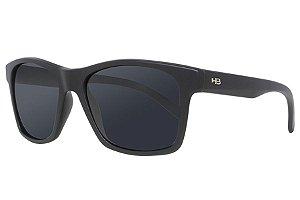 Óculos de Sol HB Unafraid/54 Preto Fosco - Lente Cinza Polarizado