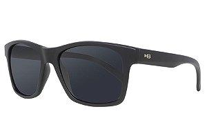 Óculos de Sol HB Unafraid/54 Preto Fosco - Lente Cinza