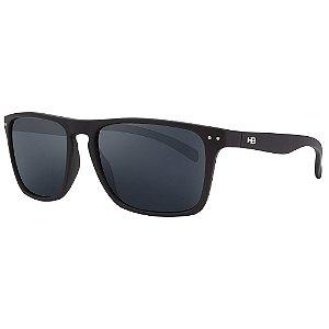 Óculos de Sol HB Cody/55 Preto - Lente Cinza Polarizado