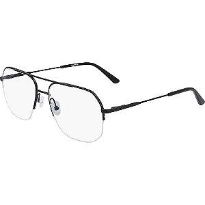 Óculos de Grau Calvin Klein CK20111 001/55 Preto Fosco