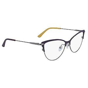 Óculos de Grau Calvin Klein CK19111 501/53 - Roxo