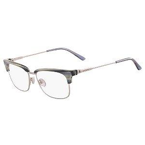 Óculos de Grau Calvin Klein CK18124 420/52 Azul Rajado