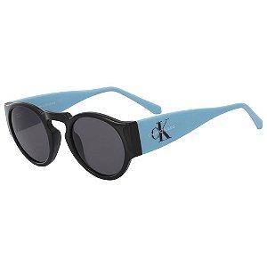Óculos de Sol Calvin Klein Jeans CKJ18500S 001/47 Preto/Azul