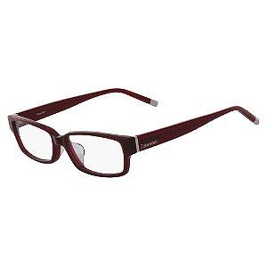Óculos de Grau Calvin Klein CK6004A 607/54 Bordô
