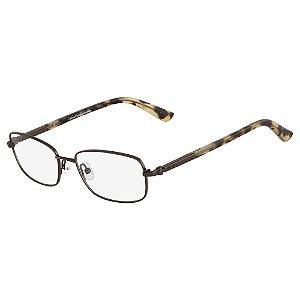 Óculos de Grau Calvin Klein CK7393 223/52 Marrom