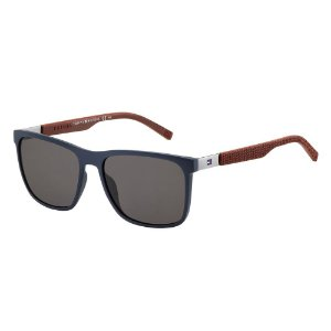 Óculos de Sol Tommy Hilfiger TH 1445/S/57 Azul/Bordo