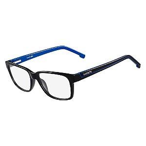 Óculos de Grau Lacoste L2692 002/54 Preto/Azul