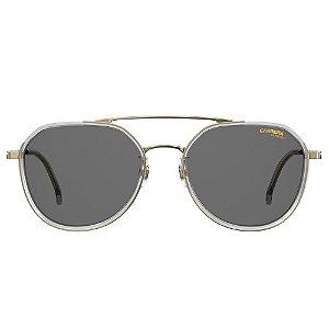 Óculos de Sol Carrera Sole Masculino  1028/Gs 55-Prata